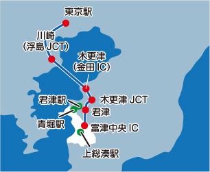 高速バスマップ