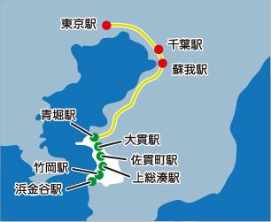電車用マップ